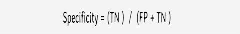 formula-specificity